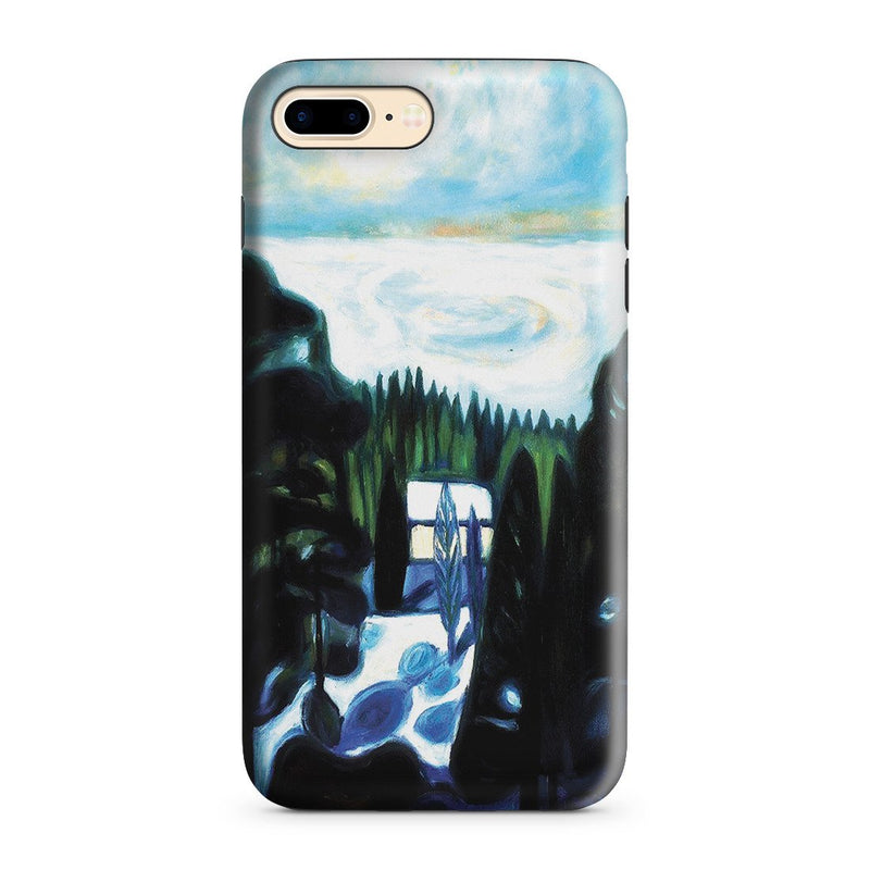 iPhone 8 Plus Adventure Case - White Night, 1901 by Edvard Munch