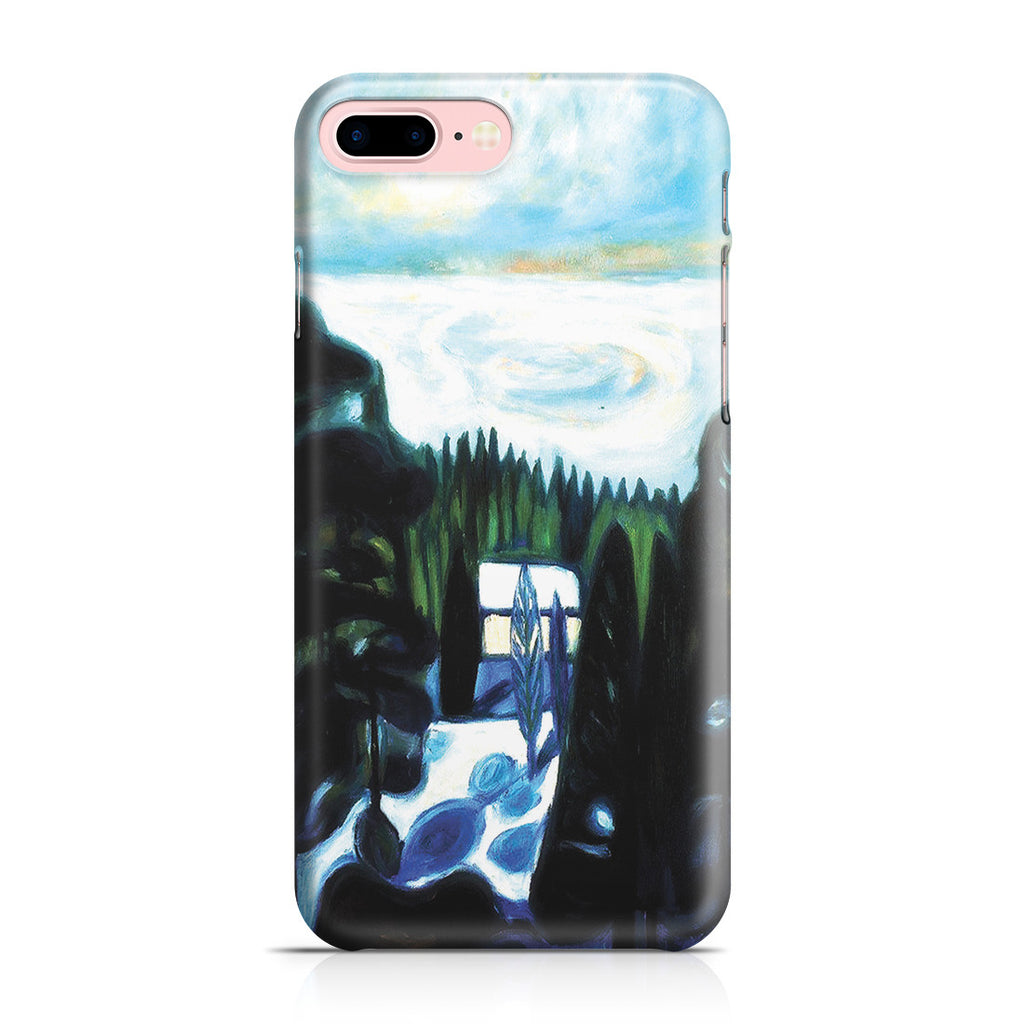 iPhone 7 Plus Case - White Night, 1901 by Edvard Munch