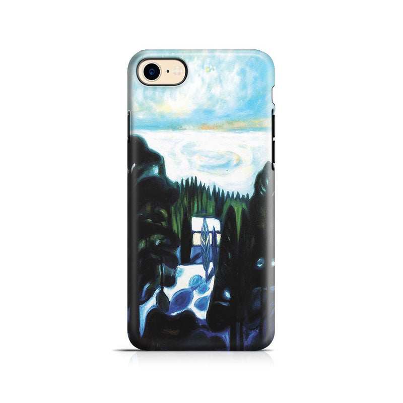 iPhone 8 Adventure Case - White Night, 1901 by Edvard Munch