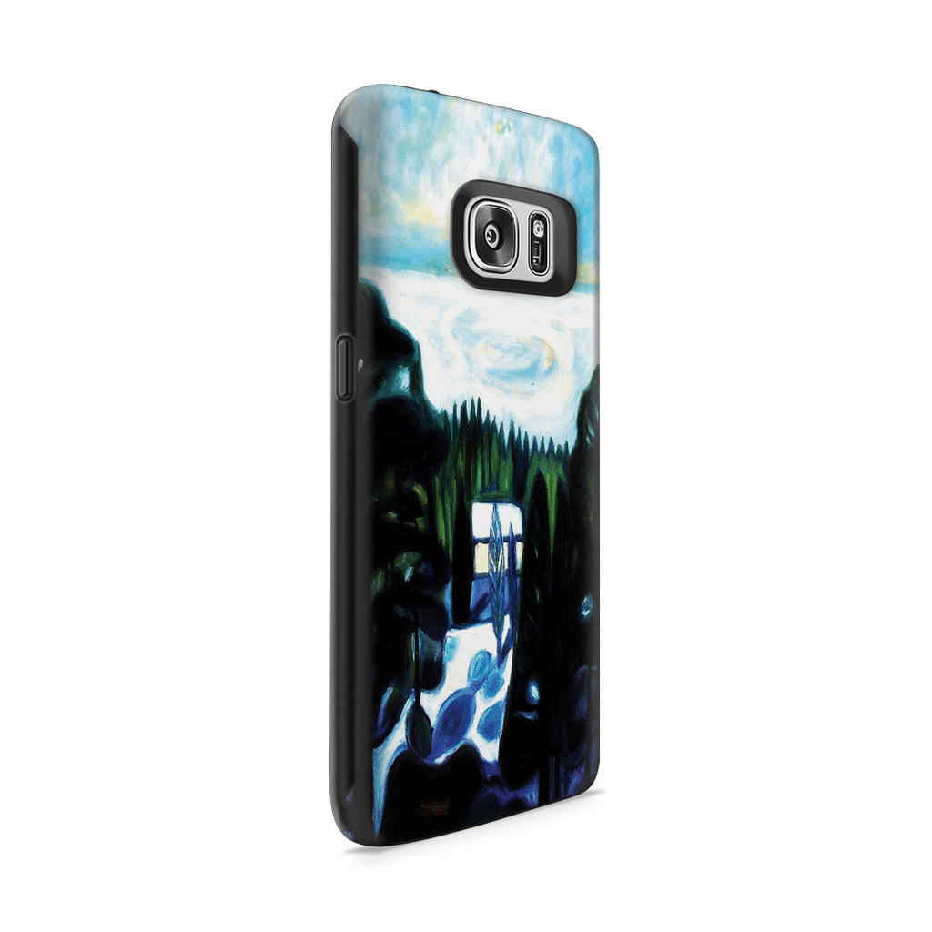 Galaxy S7 Adventure Case - White Night, 1901 by Edvard Munch