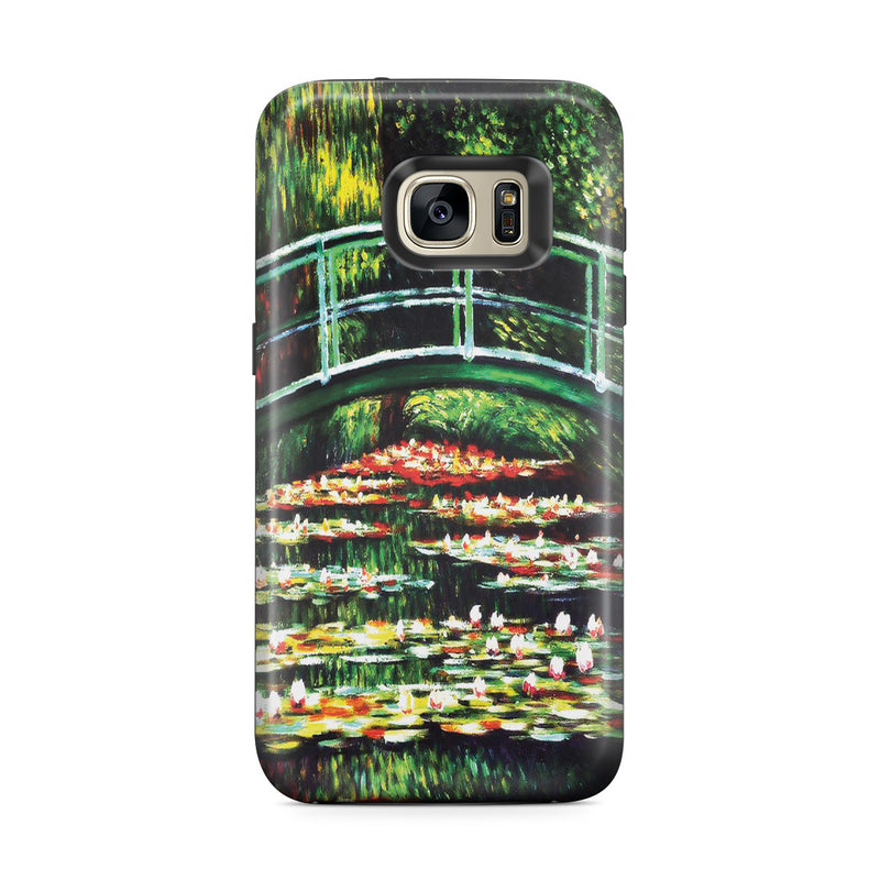 Galaxy S7 Edge Adventure Case - White Water Lilies, 1899 by Claude Monet