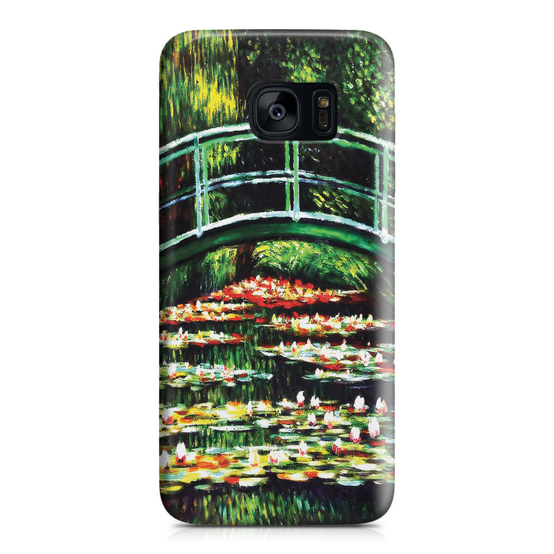 Galaxy S7 Edge Case - White Water Lilies, 1899 by Claude Monet