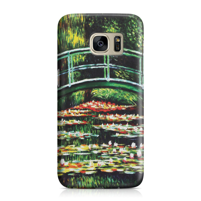 Galaxy S7 Case - White Water Lilies, 1899 by Claude Monet