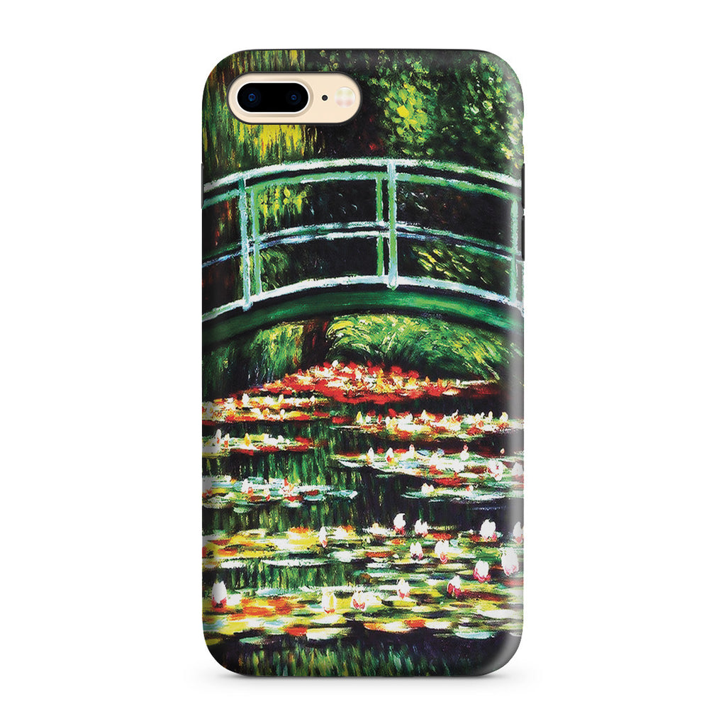 iPhone 7 Plus Adventure Case - White Water Lilies, 1899 by Claude Monet