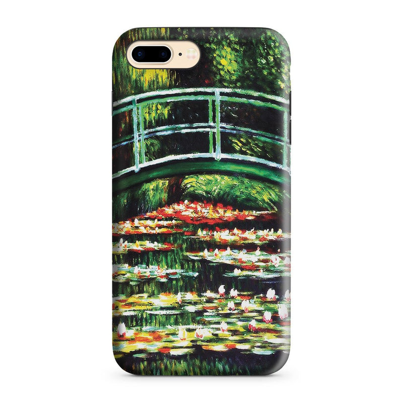 iPhone 8 Plus Adventure Case - White Water Lilies, 1899 by Claude Monet