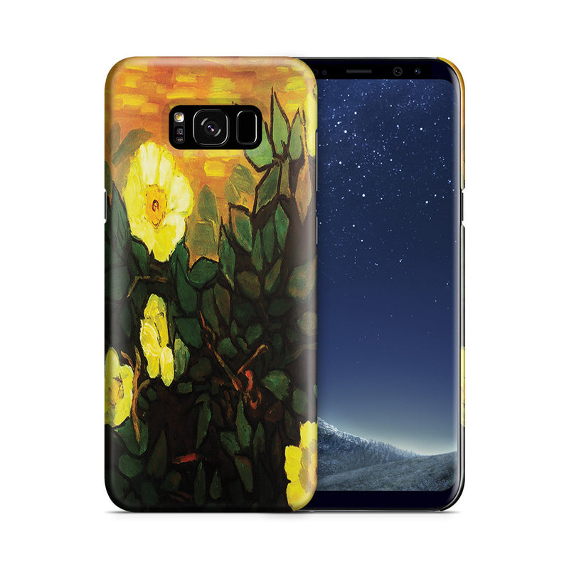 Galaxy S8 Case - Wild Roses by Vincent Van Gogh