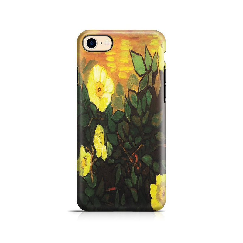 iPhone 8 Adventure Case - Wild Roses by Vincent Van Gogh