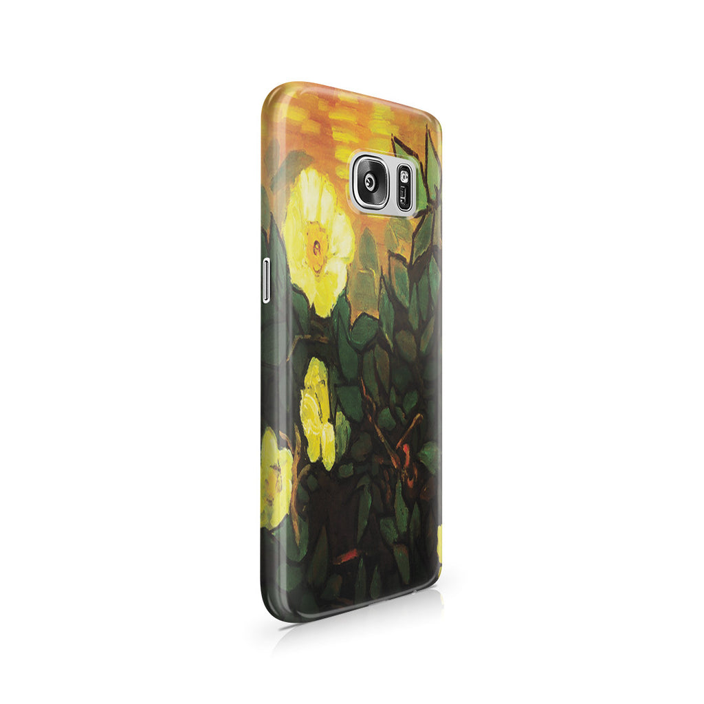Galaxy S7 Case - Wild Roses by Vincent Van Gogh