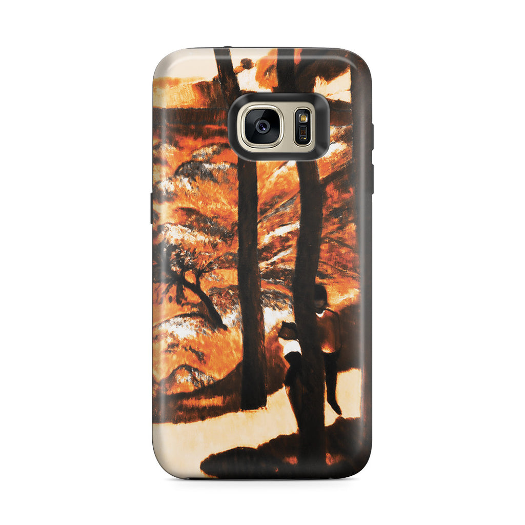 Galaxy S7 Edge Adventure Case - Blue Trees, 1888 by Paul Gauguin