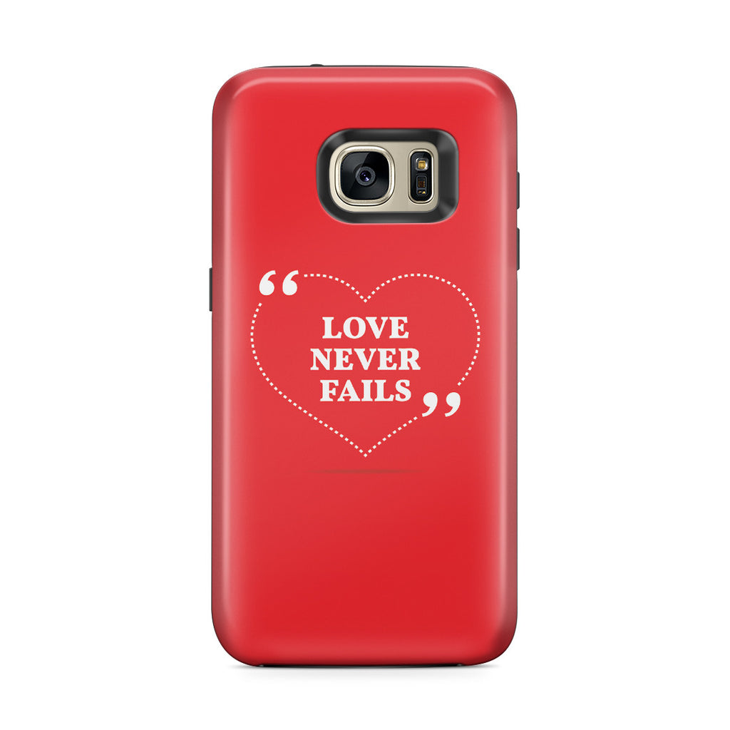Galaxy S7 Edge Adventure Case - Love is Patient. Love is Kind