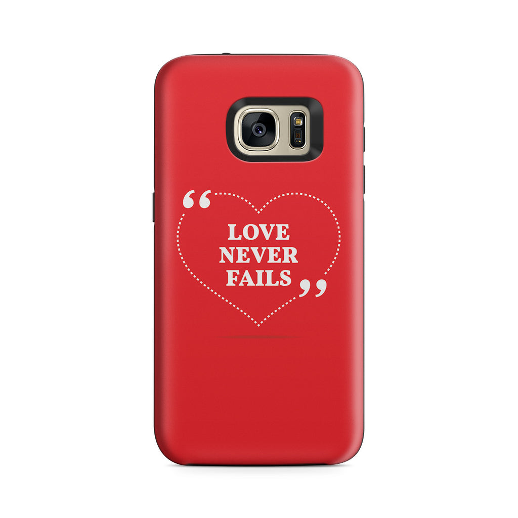 Galaxy S7 Adventure Case - Love is Patient. Love is Kind