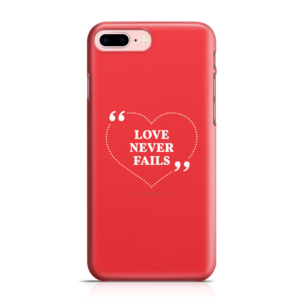 iPhone 7 Plus Case - Love is Patient. Love is Kind