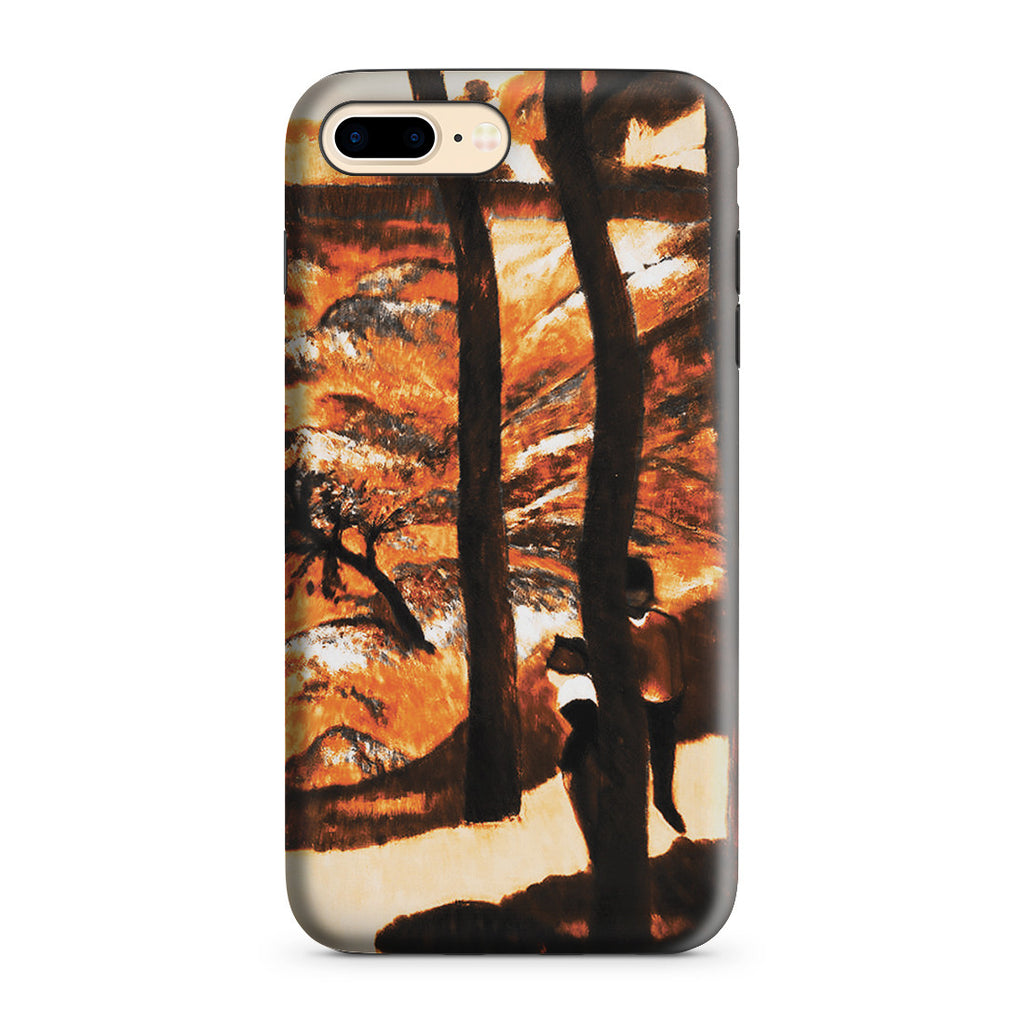 iPhone 7 Plus Adventure Case - Blue Trees, 1888 by Paul Gauguin
