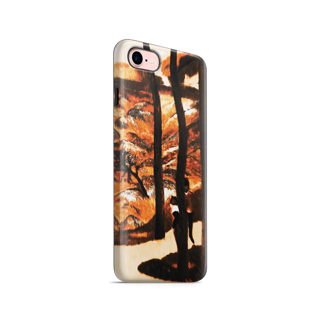 iPhone 7 Adventure Case - Blue Trees, 1888 by Paul Gauguin