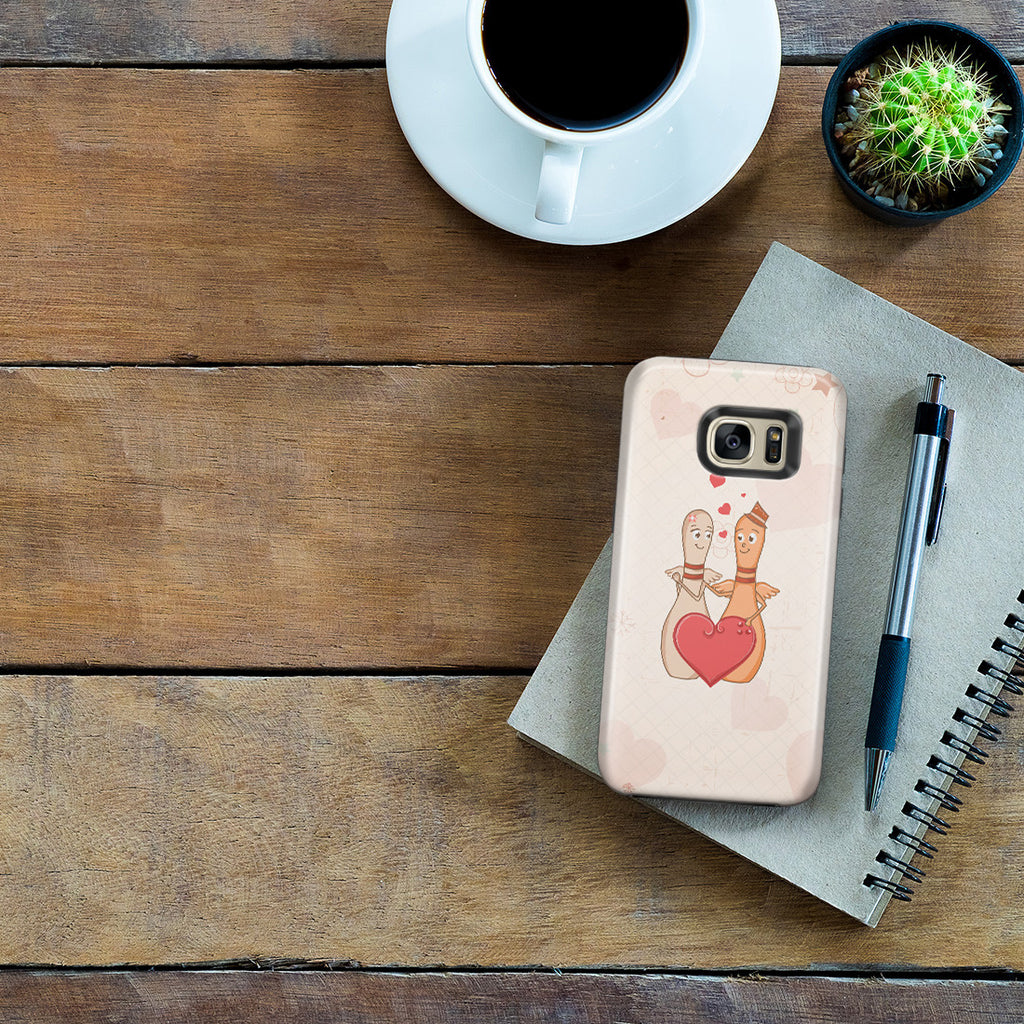 Galaxy S7 Edge Adventure Case - Lovestruck