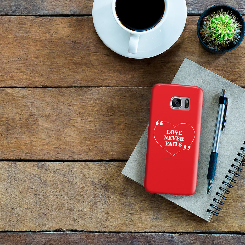 Galaxy S7 Edge Case - Love is Patient. Love is Kind