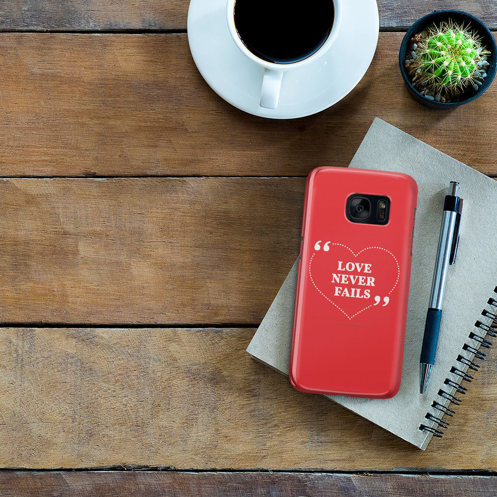 Galaxy S7 Case - Love is Patient. Love is Kind