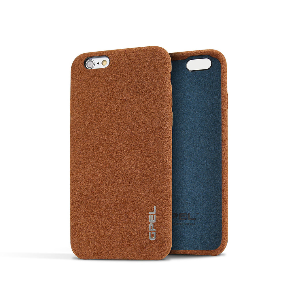 TEST2 VARIATION-iPhone 6 | 6s GPEL Leather™ Chamois – Brown