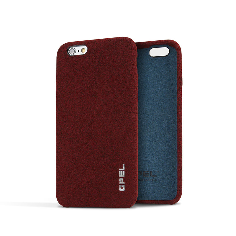 iPhone 6 | 6s GPEL Leather™ Chamois – Burgundy