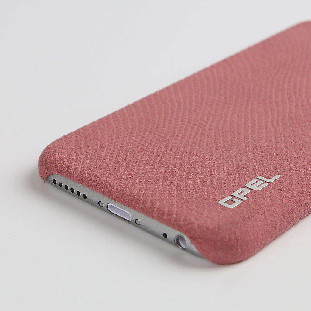 iPhone 6 | 6s GPEL Leather™ Crocodile – Indian Pink