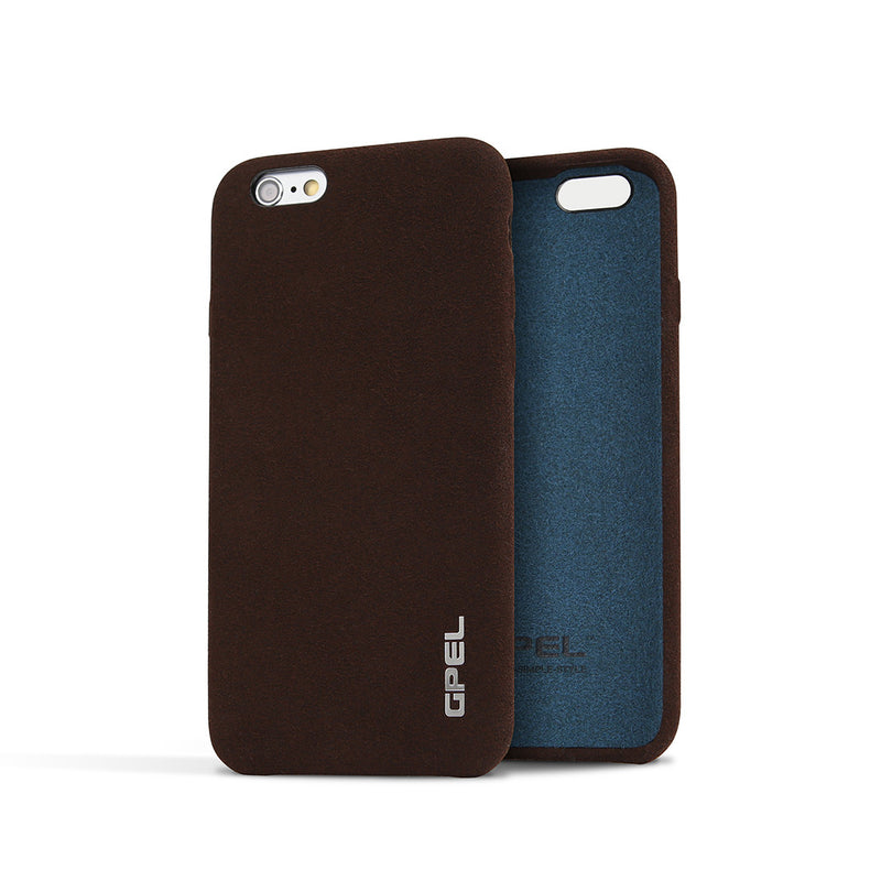 iPhone 6 | 6s GPEL Leather™ Chamois – Reddish Brown