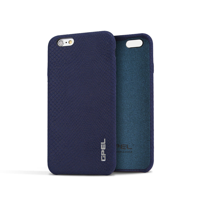 iPhone 6 | 6s GPEL Leather™ Crocodile – Navy