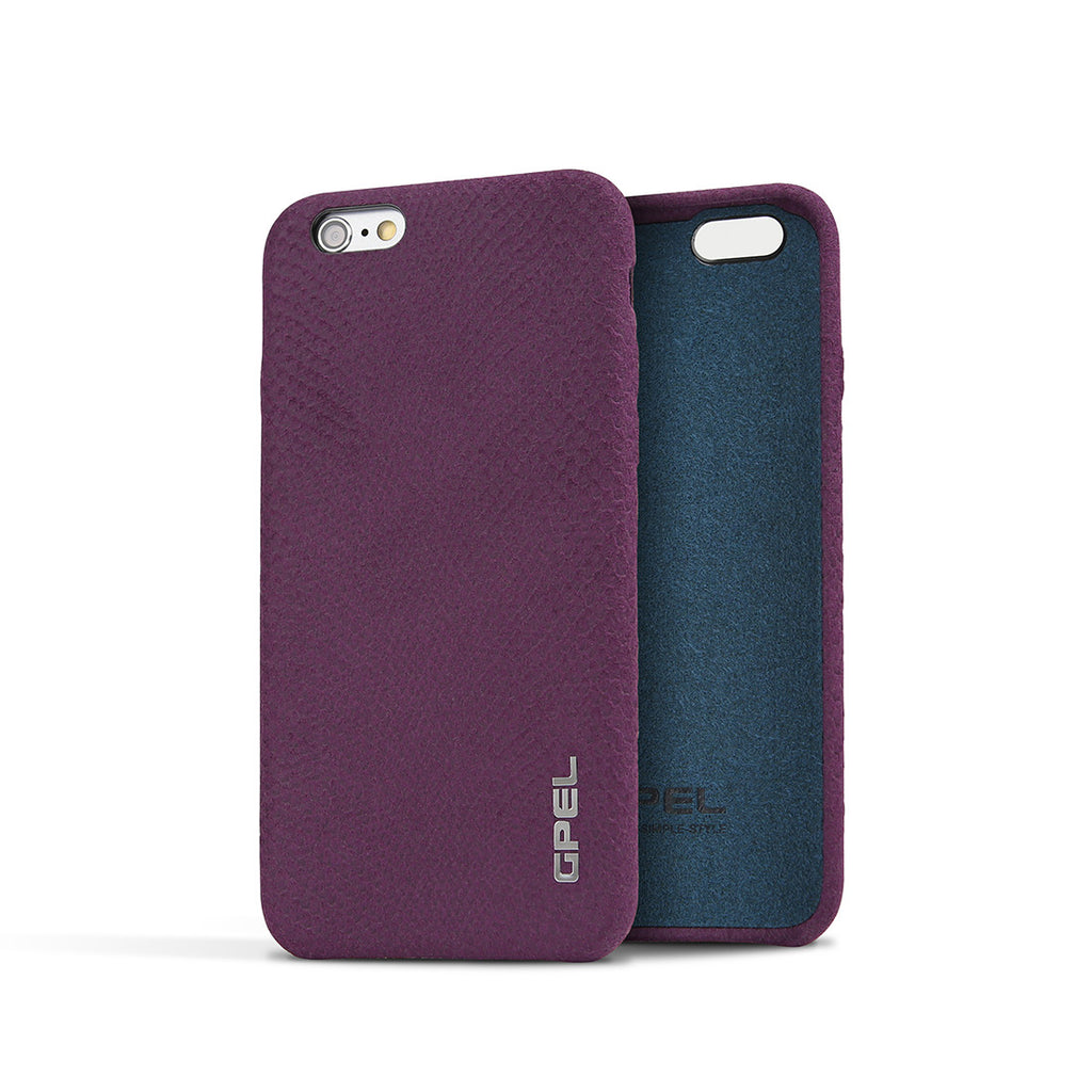 iPhone 6 | 6s GPEL Leather™ Crocodile – Purple