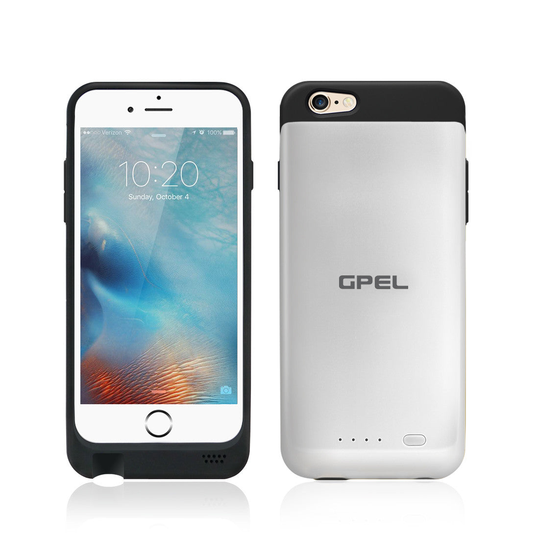 detailed pictures edfce 55252 iPhone 6|6S Wireless Qi Charging Extended Battery Case