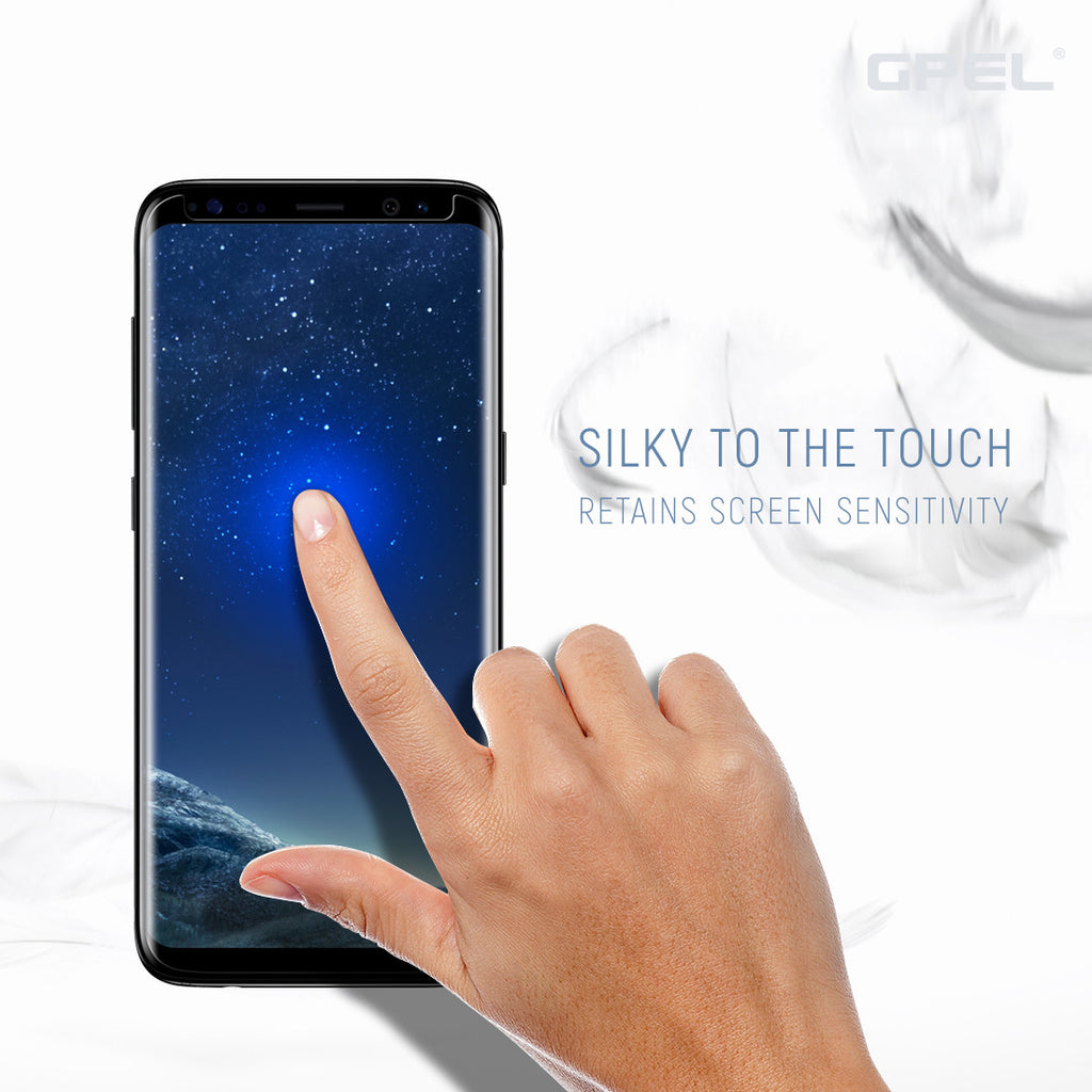 Galaxy S8 Plus - Full Coverage Tempered Glass Screen Protector