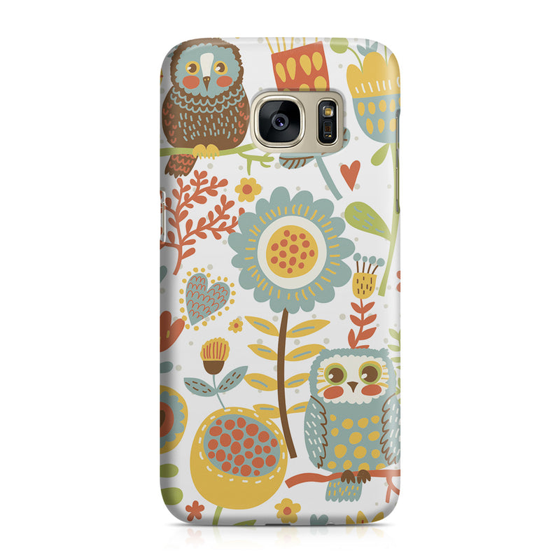 Galaxy S7 Case - Morning Owl