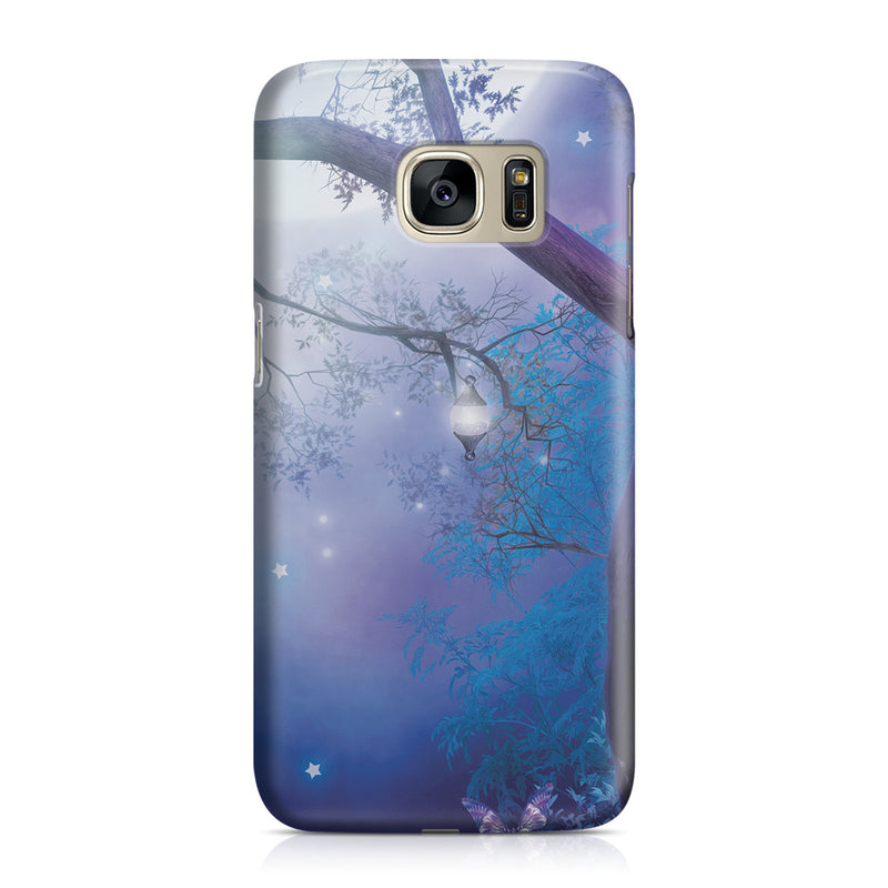 Galaxy S7 Case - Moonlight Garden