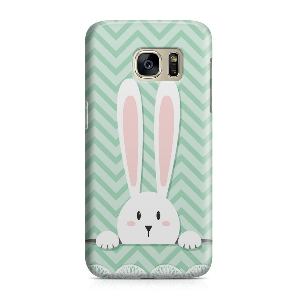 Galaxy S7 Case - Curious Rabbit