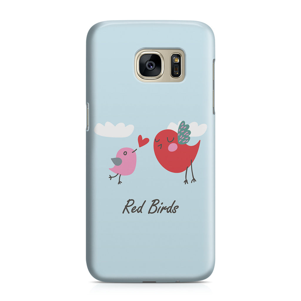Galaxy S7 Case - Red Birds