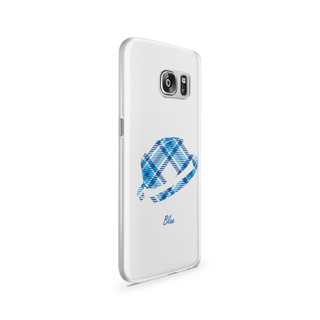 Galaxy S7 Case - Blue Bro's Fedora