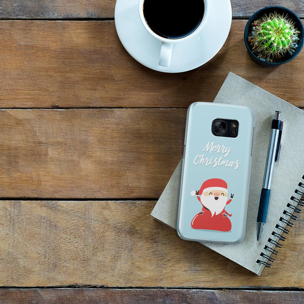 Galaxy S7 Case - Happy Santa