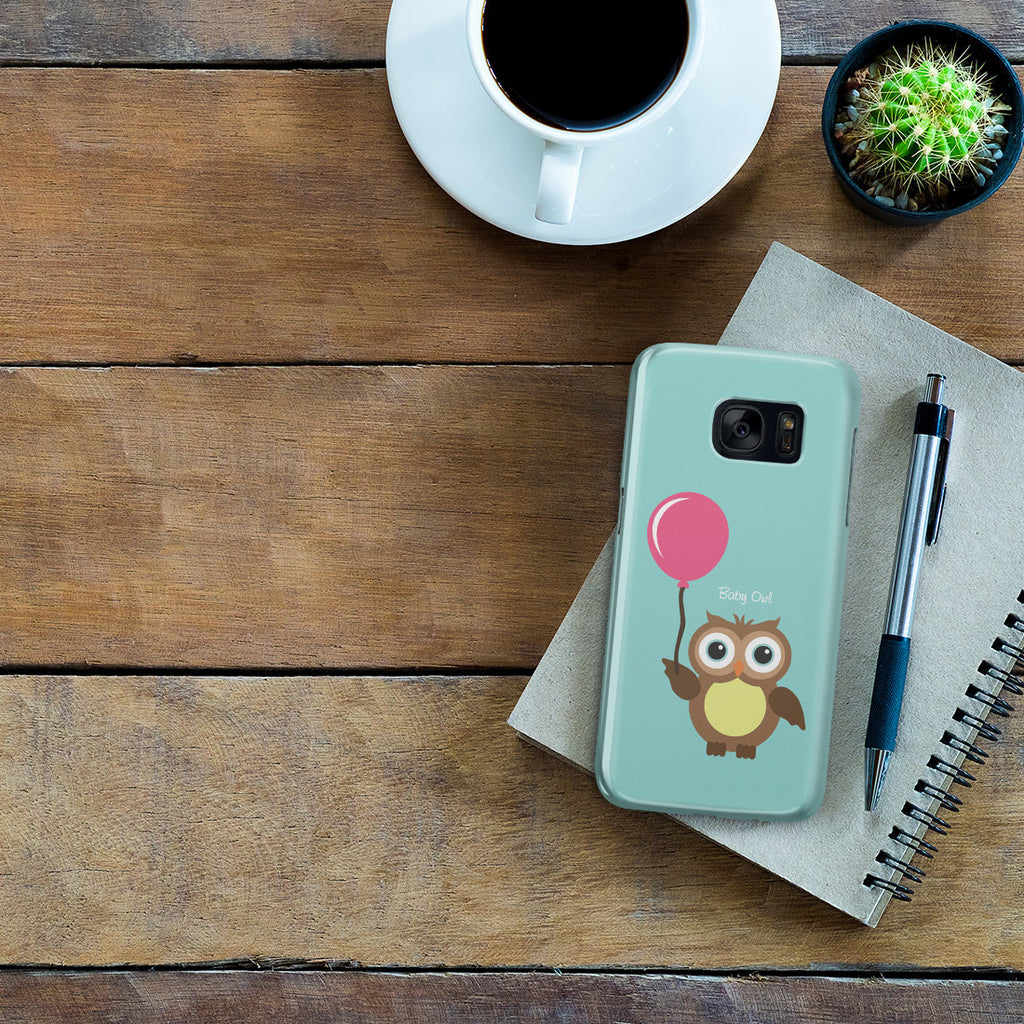 Galaxy S7 Case - Baby Owl