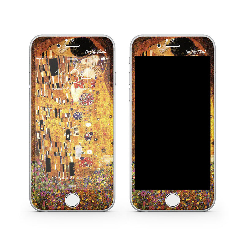 iPhone 7 Plus Vivid Glass Screen Protector - Gustav Klimt