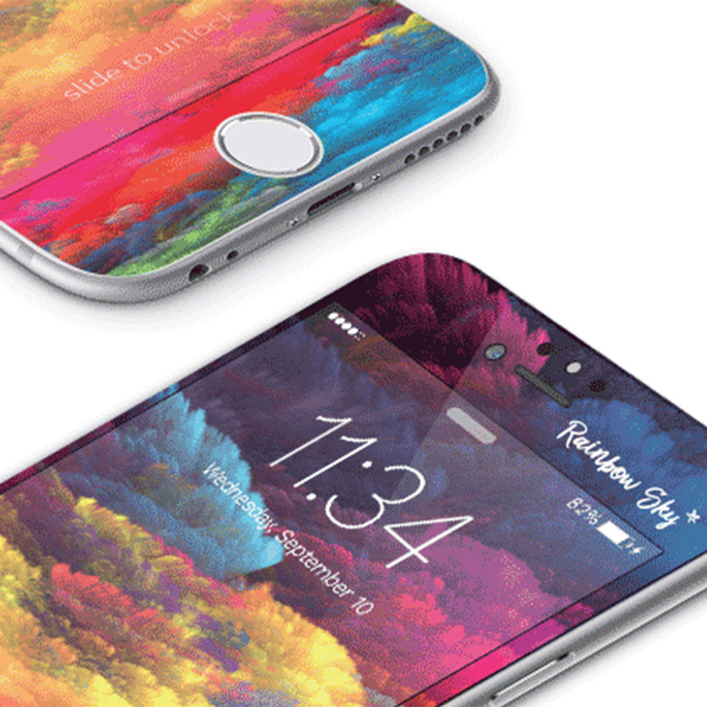 iPhone 6 | 6s Vivid Glass Screen Protector - Rainbow Sky