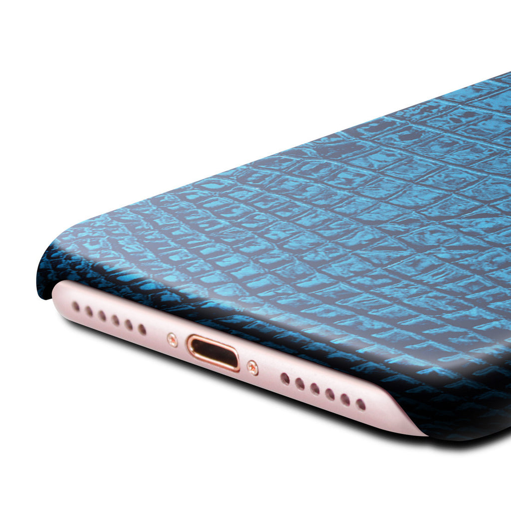 Croco Leather Case