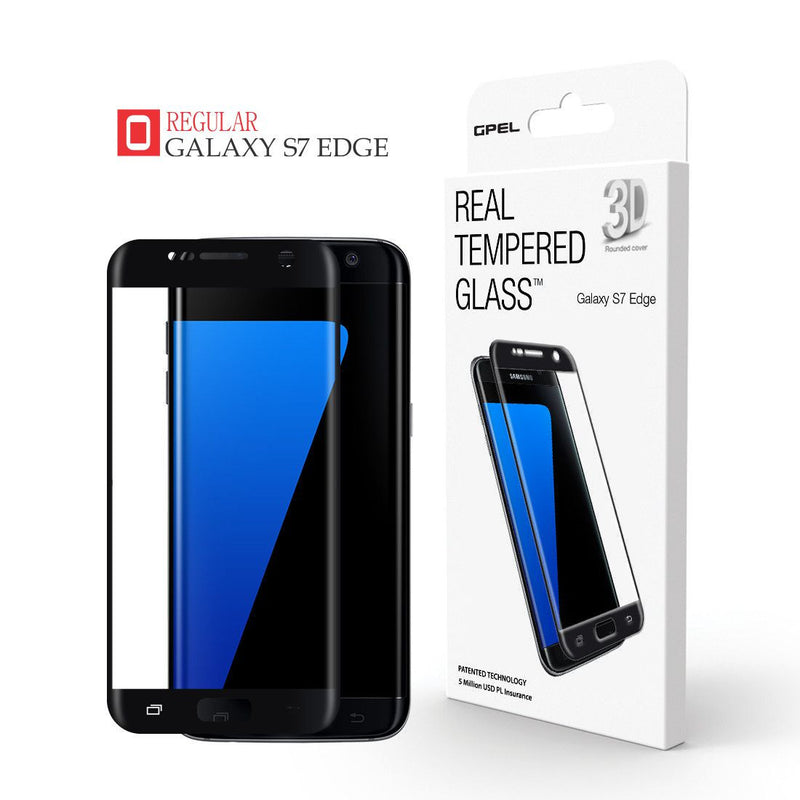 Copy of Galaxy S7 Edge - Full Coverage Tempered Glass Screen Protector