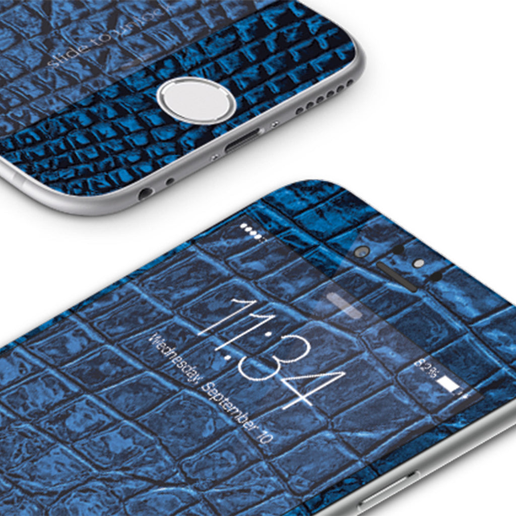 iPhone 6 | 6s Vivid Glass Screen Protector - Croco Leather