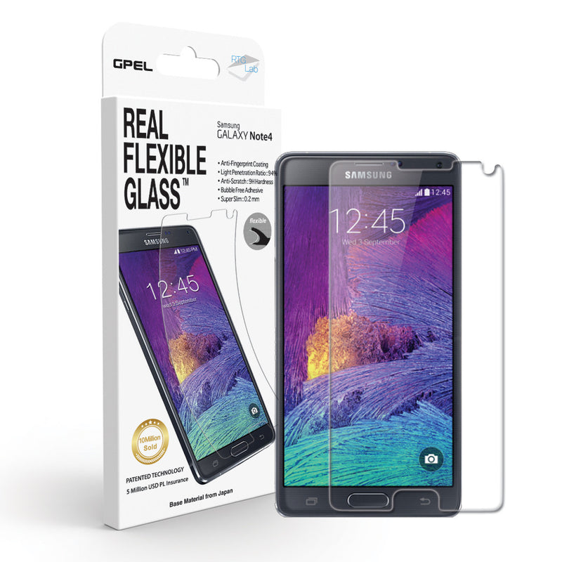 Galaxy Note 4 Screen Protector - Real Tempered Glass - GPEL