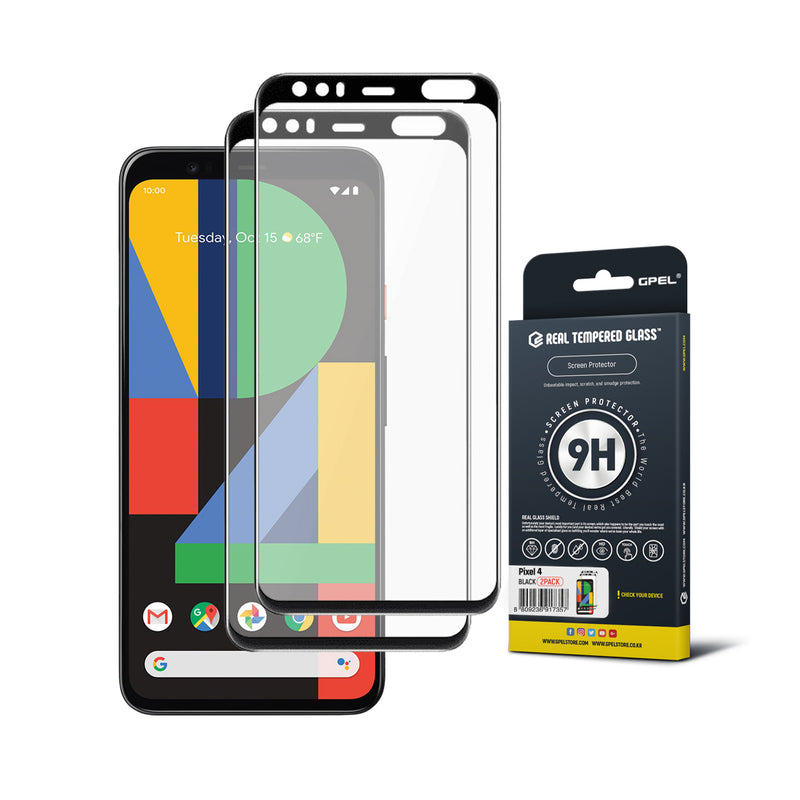 Google Pixel 4 Screen Protector Tempered Glass [2-pack]