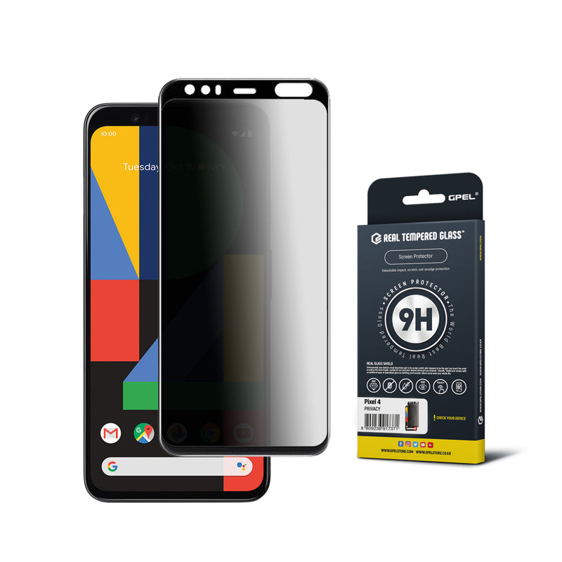 Google Pixel 4 Screen Protector Tempered Glass [Privacy]