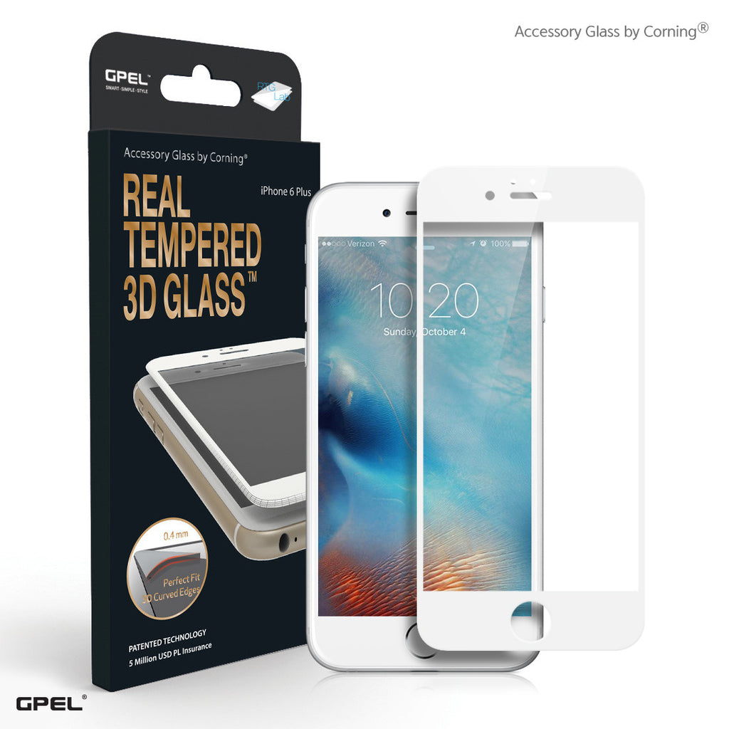 iPhone 6|6S Plus Full Coverage Accessory Glass by Corning® Screen Protector