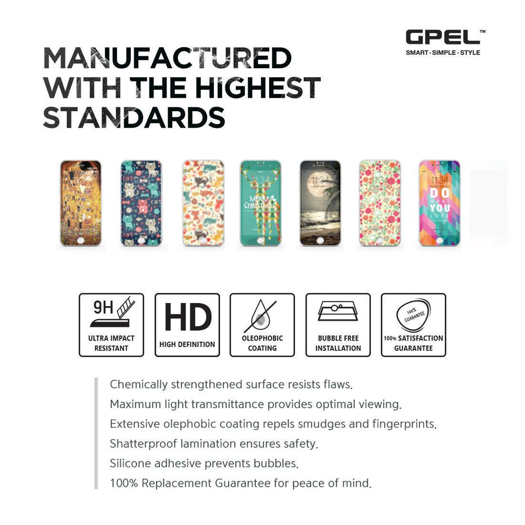 iPhone 7  Vivid Glass Screen Protector - Cherish Each Moment