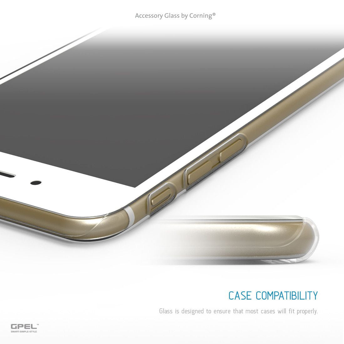 pretty nice e2901 04d10 iPhone 6|6S Full Coverage Accessory Glass by Corning® Screen Protector