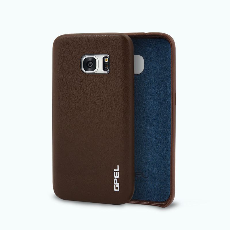 Galaxy S7 GPEL Leather™ Koskin – Brown