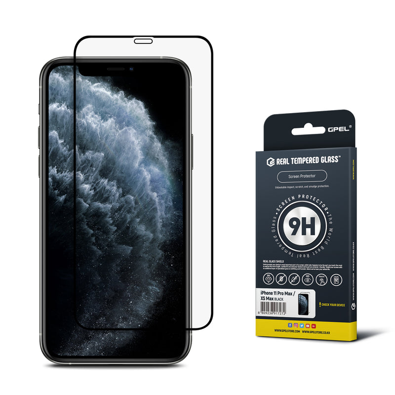 iPhone 11 Pro Max / XS Max Real Tempered Glass Screen Protector - 1 Pack