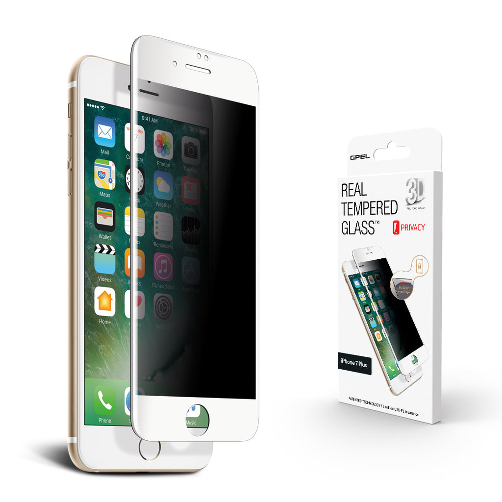 Iphone 7 Plus Screen Protector Privacy 3d Curved